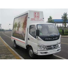 FOTON 4*2 led mobile stage truck for sale